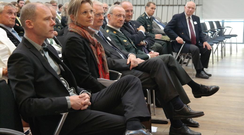 Gæster ved Soldaterlegatets årsmøde